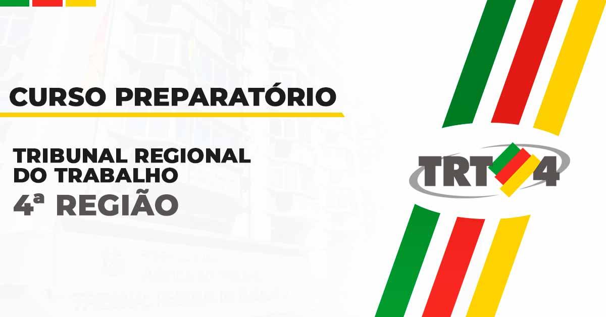 Curso Preparatório para TRT 4ª Região
